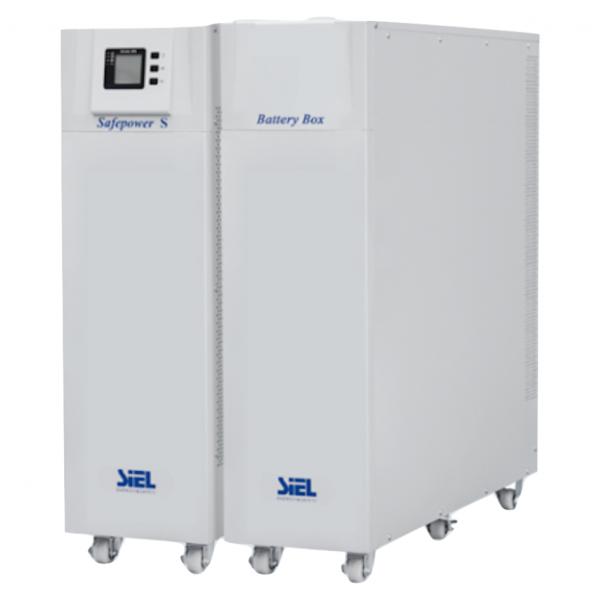 SIEL UPS - OnLine Double Conversion - SAFEPOWER S (20kVΑ - 18kW) (3:3) UPS – Συστήματα Αδειάληπτης Τροφοδοσίας